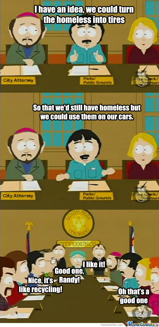 South Park: The Most Brainless Town...