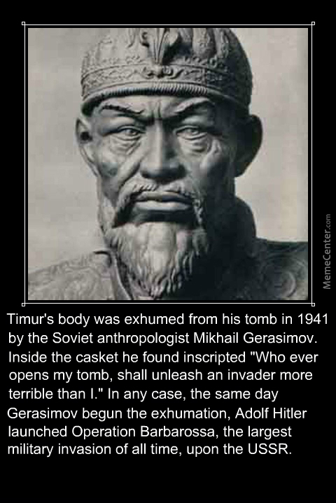 Soviets Didn't Knew That Timur Was An Old High School Buddy Of Hitler