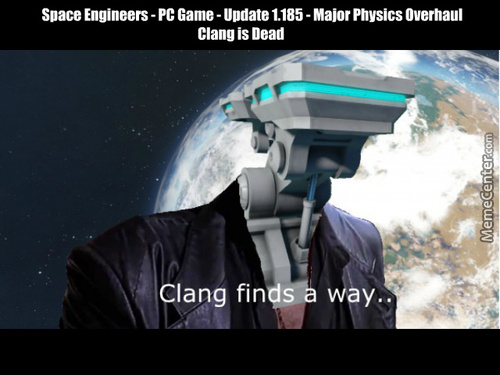 Space Engineers Patched Away Clang Rest In Peace