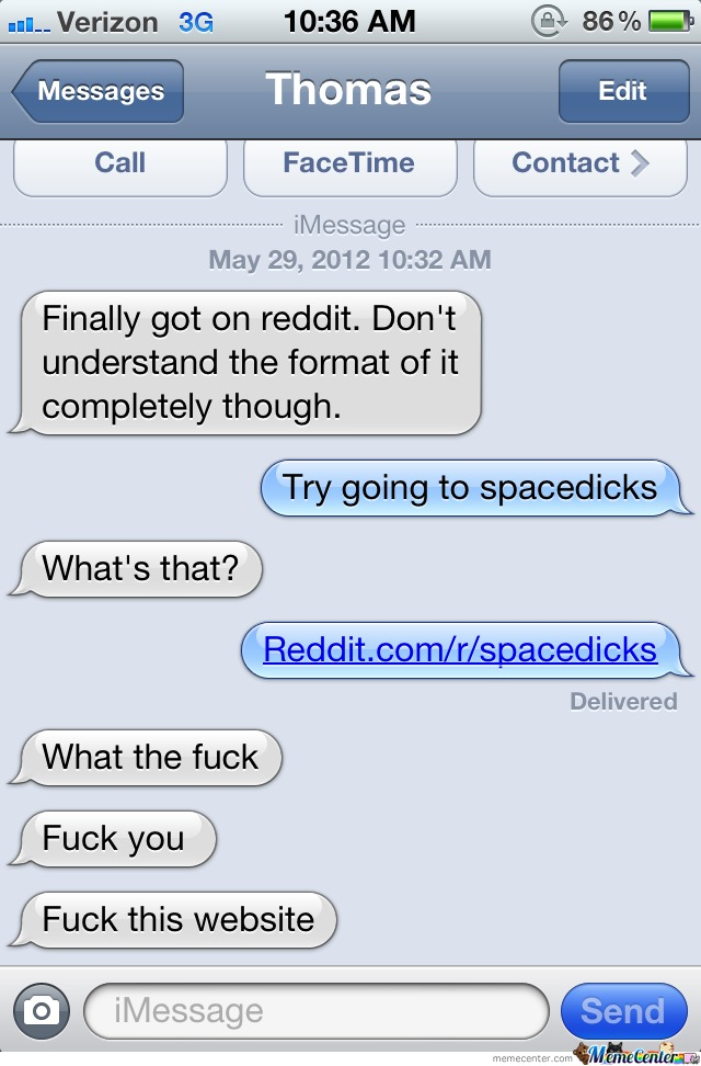 Spacedicks...just Don't Do It, Man...