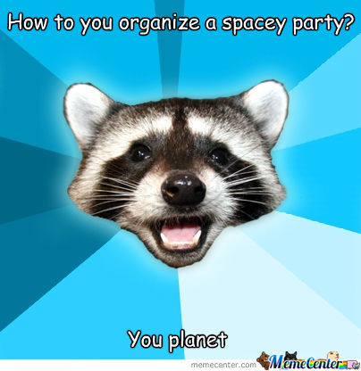 Spacey Party