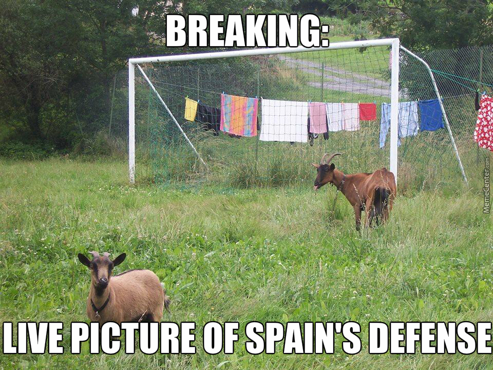Spain Vs Chilie Today