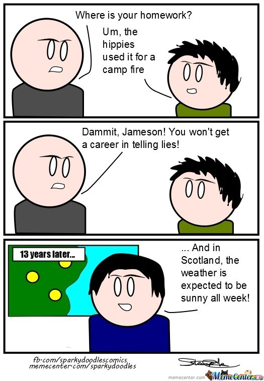 Sparky Doodles: Career In Lies