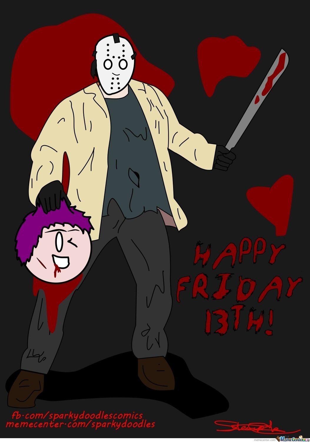 Sparky Doodles: Happy Friday 13Th!