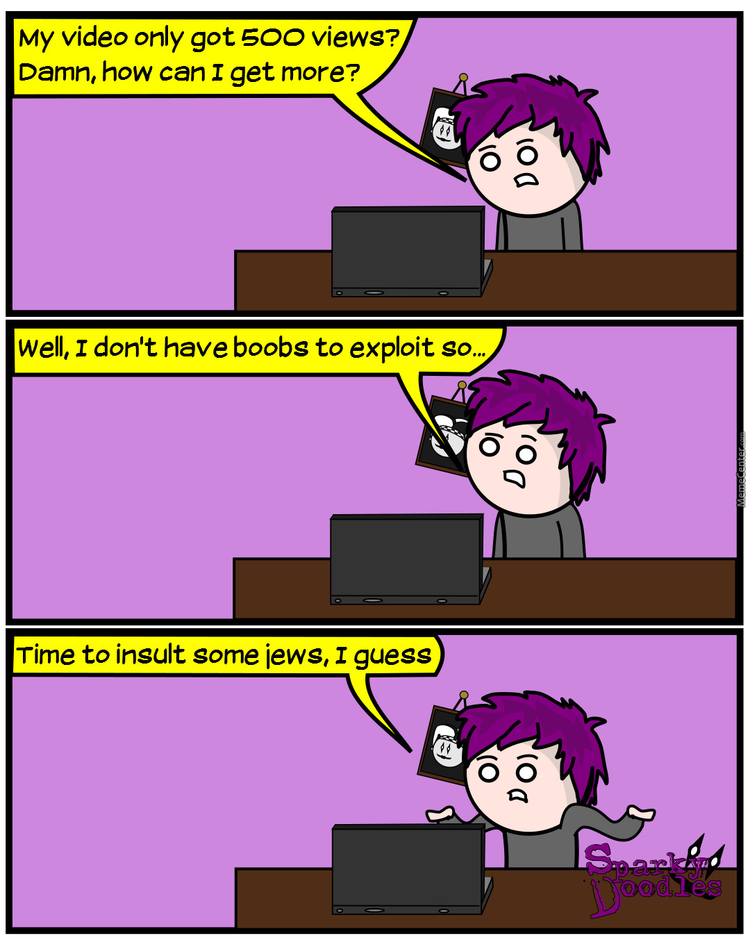 Sparky Doodles: How To Be Youtube Famous