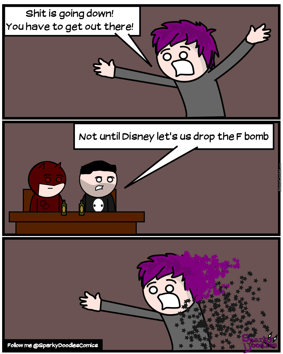 Sparky Doodles: Missing Something, Version Two