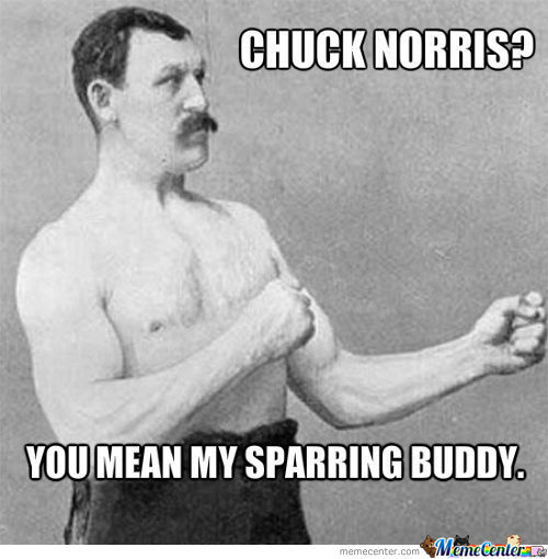Sparring Buddy Chuck