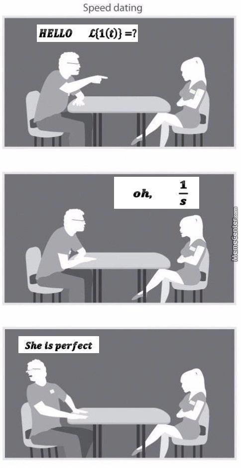 Dating an engineer meme