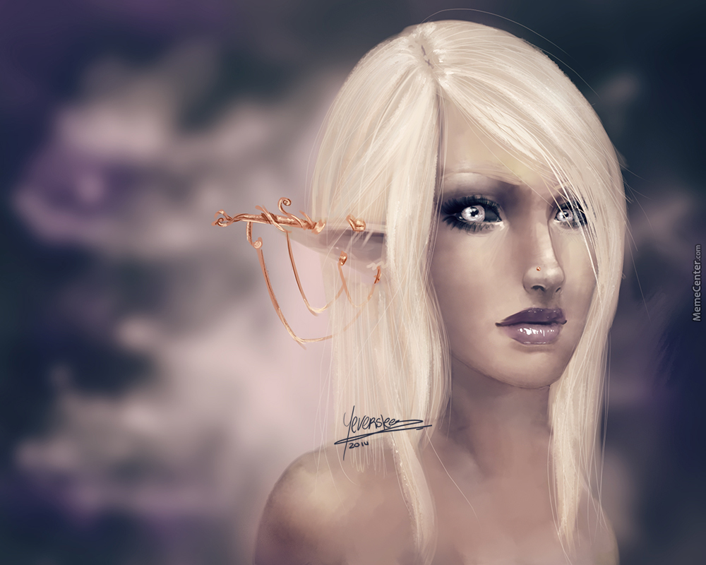 [Speedpainting] Elf