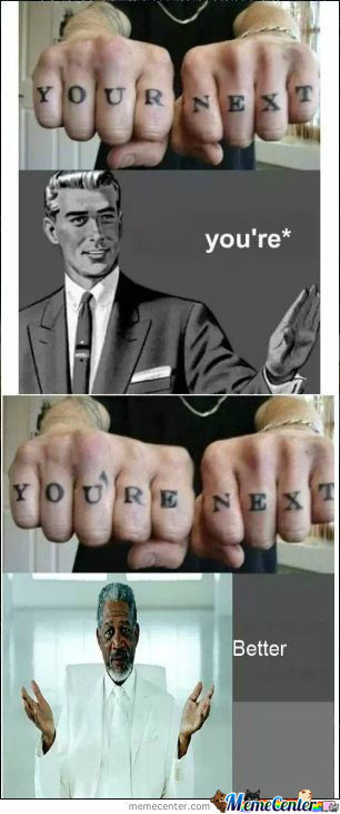 Spell Check Your Tattoos
