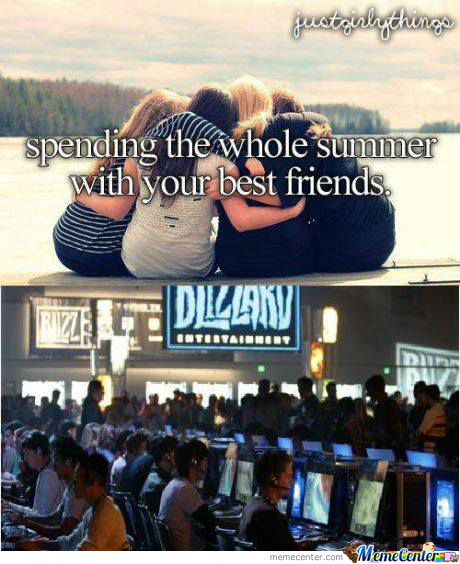 Spending The Whole Summer With You're* Best Frinds