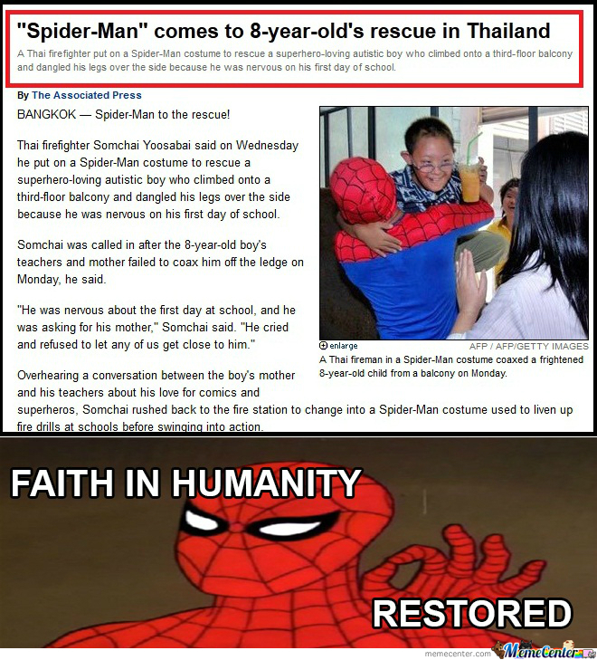 Spider-Man To The Rescue