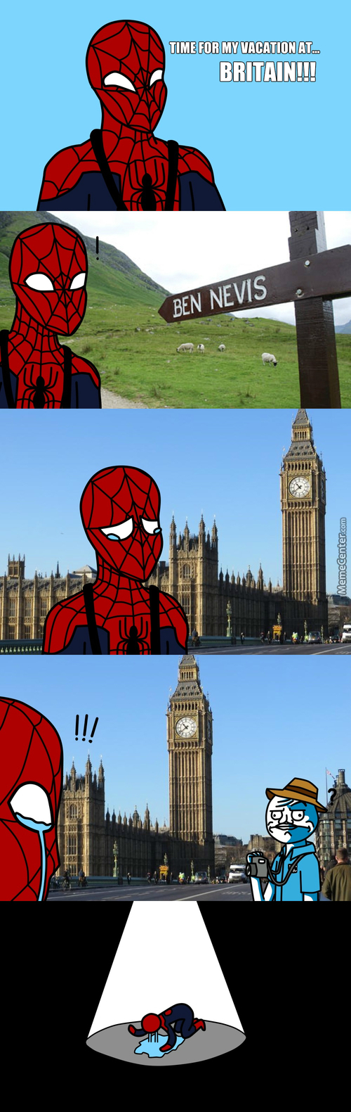 Spiderman's Ultimate Vacation!