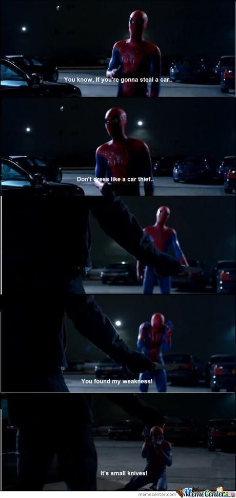 Spiderman Being Awesome