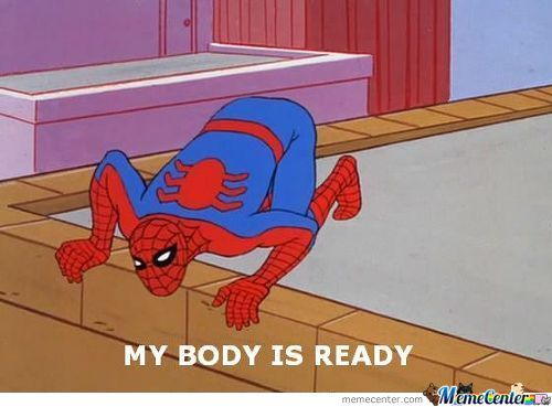 Spiderman Is Ready