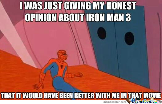 Spiderman Was Thrown Out Of The Cinemas By Security