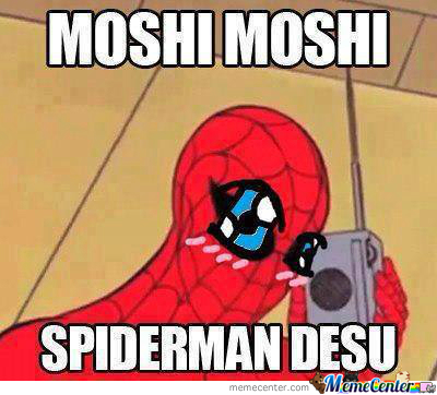 Spidey Is So Kawaii!