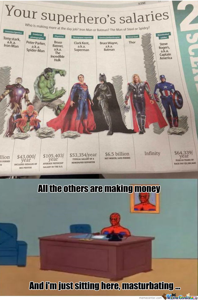 Spidey Salary