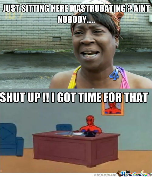 Spidy Got Time For That ..