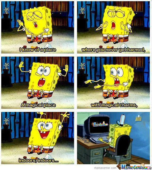 Spongebob Knows...