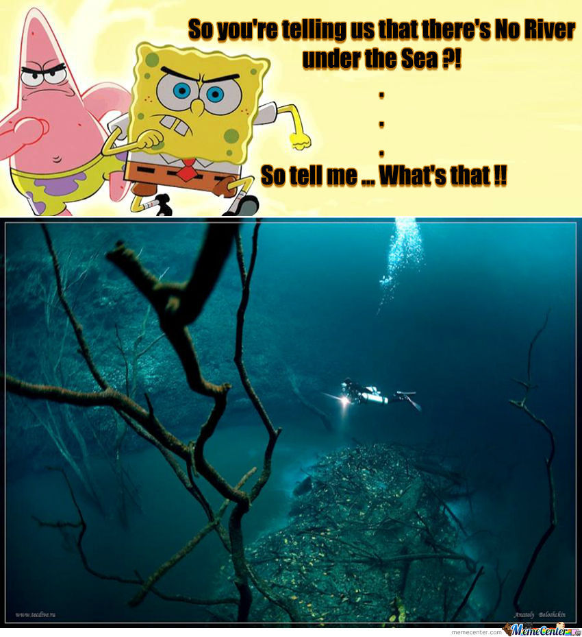 Spongebob you were right all this time