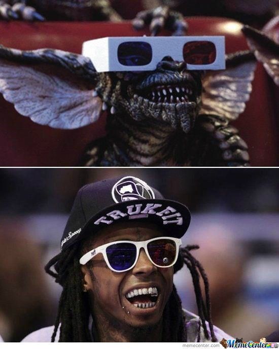 Spot The Differences: Lil Wayne - Gremlins