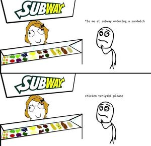 srsly every time at subway_fb_231316 srsly, every time at subway by andhy1001 meme center