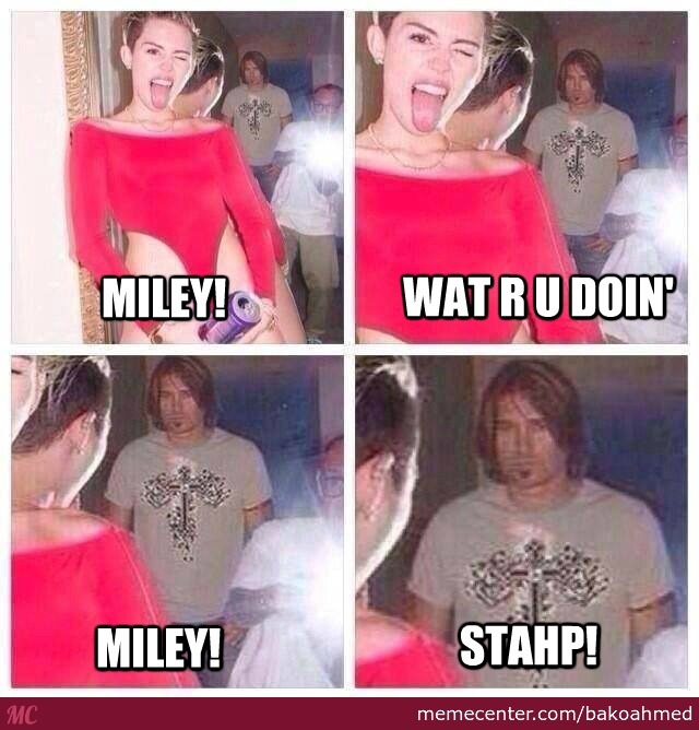 cyrus meme billy ray Miley