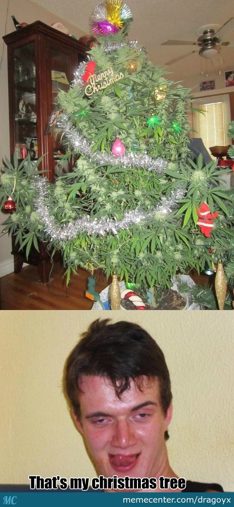 Stanley's Weedmas Tree
