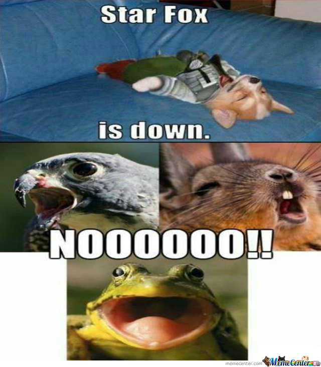 star fox is down_o_2086103 star fox is down by recyclebin meme center