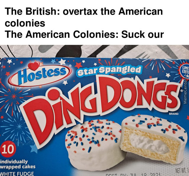Star Spangled Ding Dongs