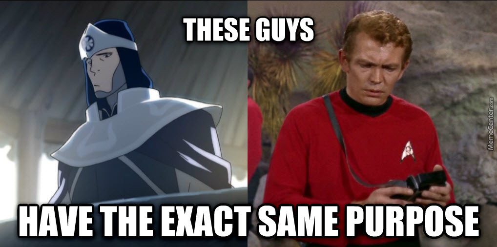 star trek and white lotus red shirts_o_3538317 star trek and white lotus red shirts by rob lucci meme center