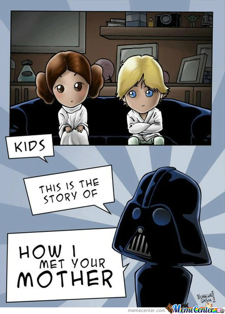 Star Wars: Episode 8. How I Met Your Mother.