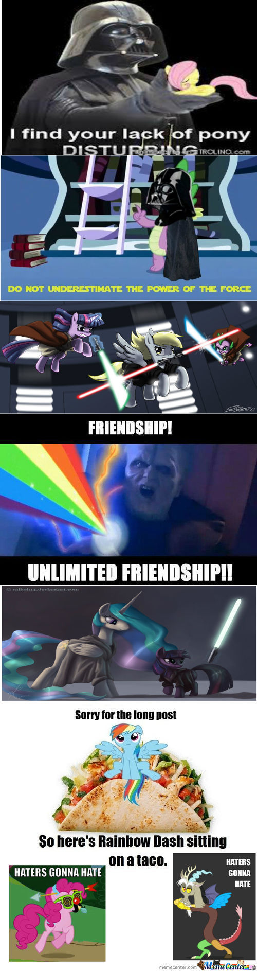 Star Wars + Ponies = Awesome