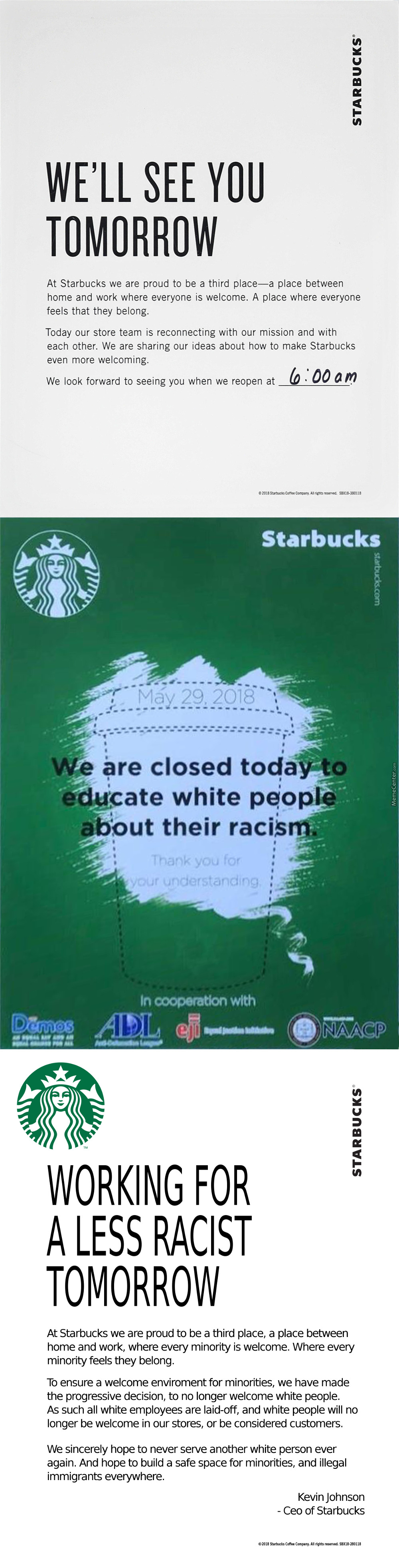 Starbucks And The Racist Hoax