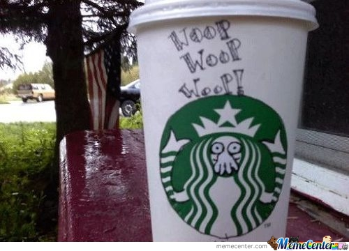 Starbucks Cup Is Epic