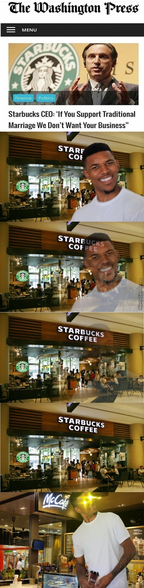 Starbucks Is Trash Anyway. Xd