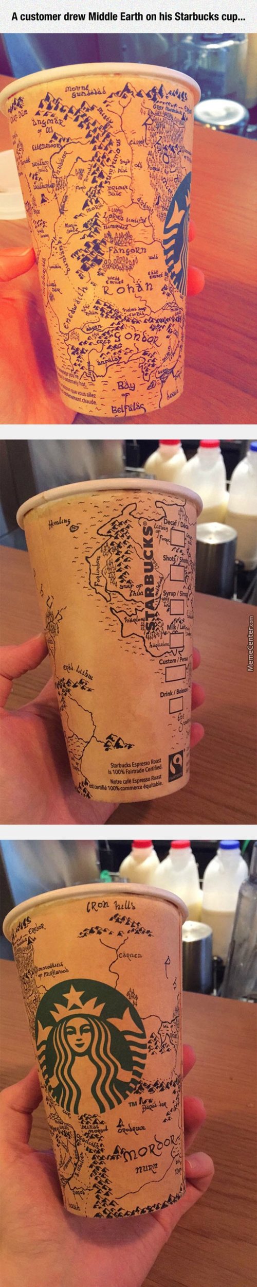 Starbucks Should Do This With Their Cups For Popular Movies Coming Out.