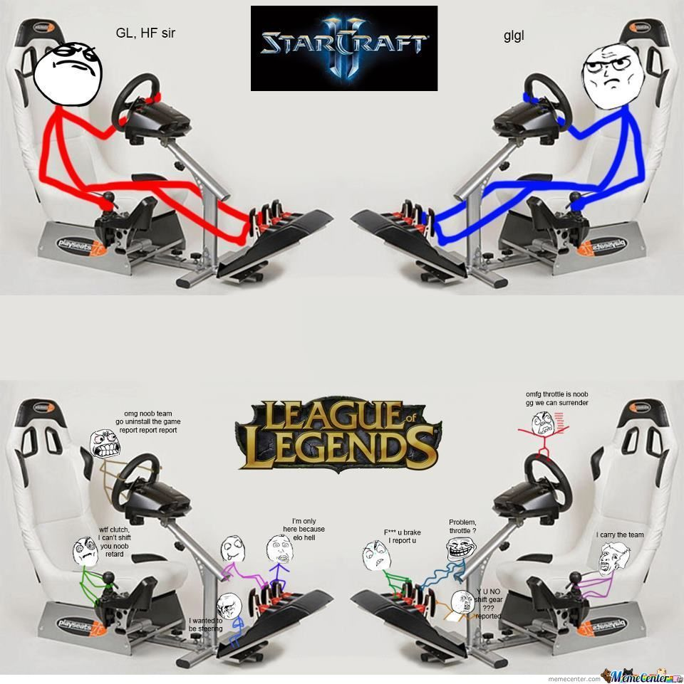 starcraft ii vs league of legends_o_947010 starcraft ii vs league of legends by eak meme center,Leagueoflegends Meme