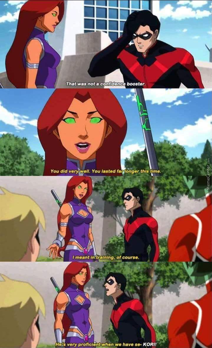 Starfire Is Bae (Teen Titans: Judas Contract)