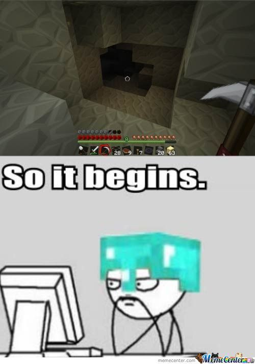 Started A New World In Minecraft Today By Danly12321