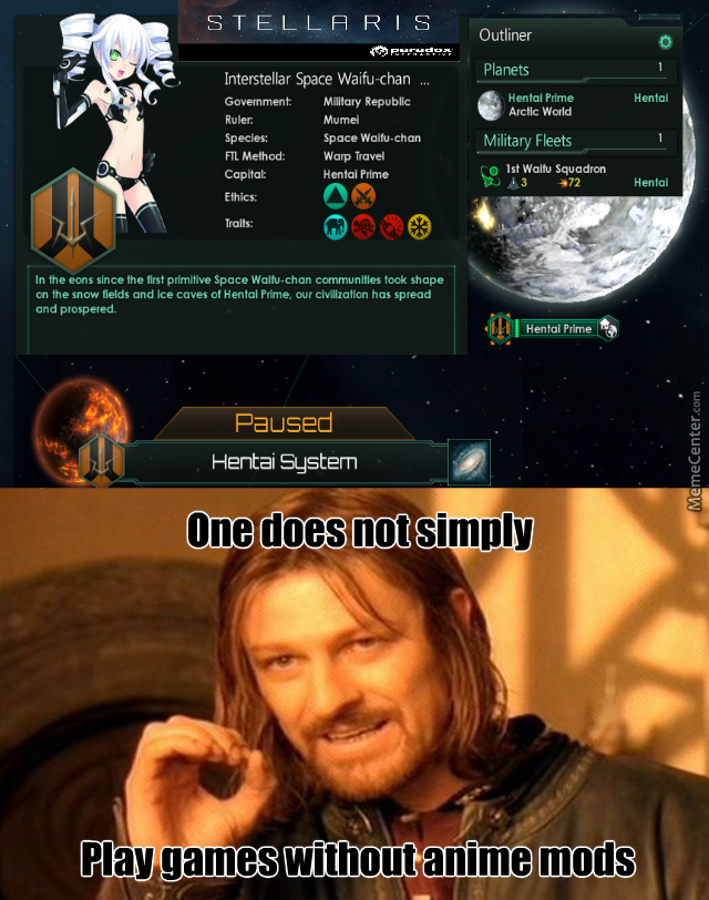 stellaris is now a perfect game do anyone on this site play it tho_o_6763151 stellaris memes best collection of funny stellaris pictures
