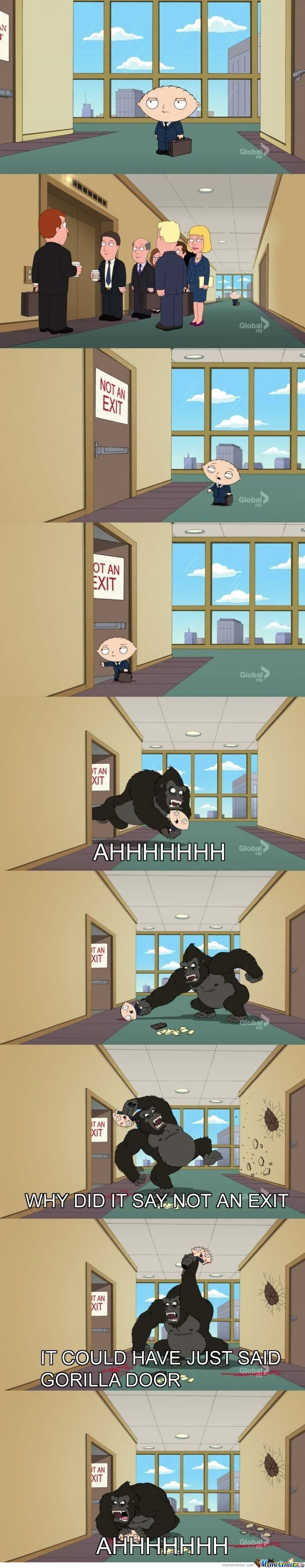 Stewie Is Awesome Okay???......and A Cookie