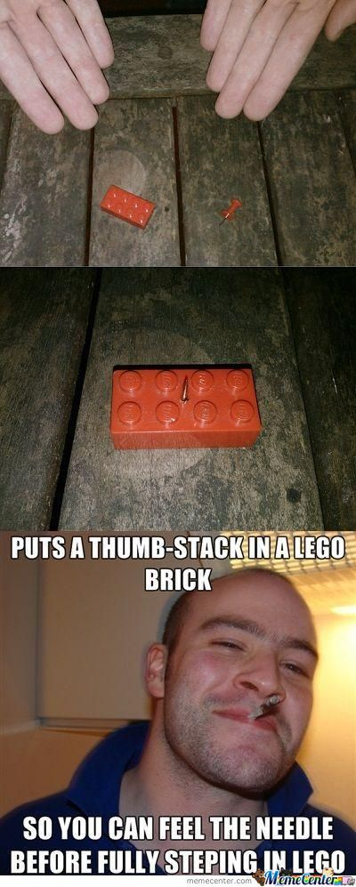Still A Lot Better Than Stepping On A Lego