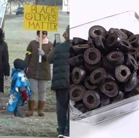 Stop Abusing Those Poor Black Olives!