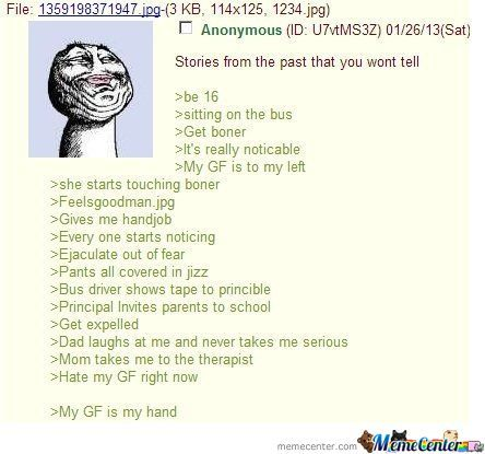 Stories From Past You Can't Tell (4Chan)