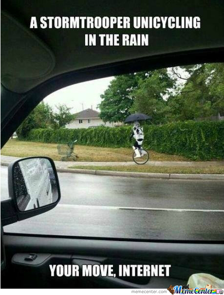Stormtrooper Challenges Internet To A Duel!