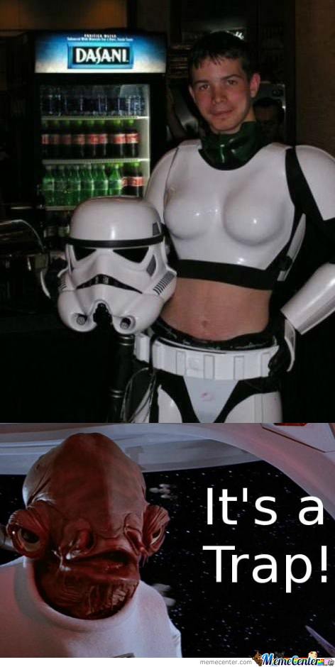 Stormtrooper Trap