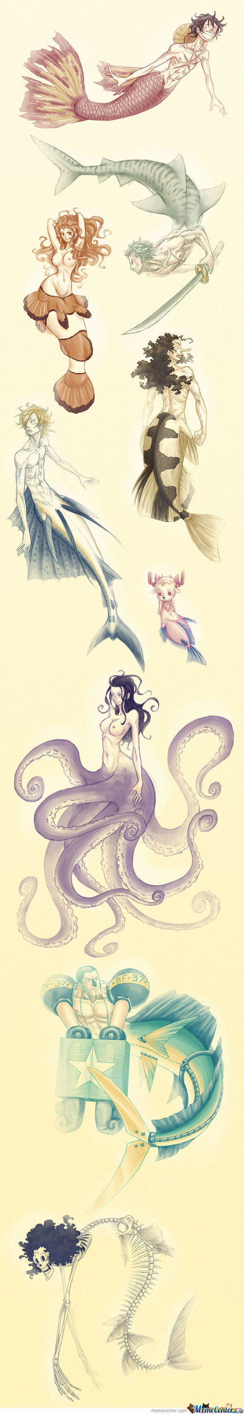 Strawhat Mermaid