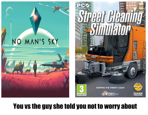 Street Cleaning Simulator 10/10 ...when Compared To No Man's Sky